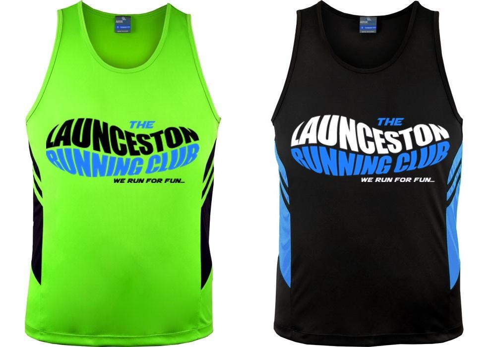 9f7a23b49ff Mens Running Singlets - Launceston Running Club